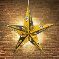 Packers Star Paper Lantern