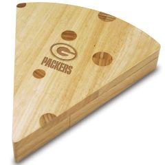 Green Bay Packers Swiss Cheese Board Set