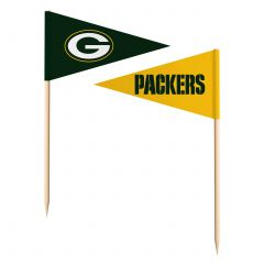 Packers Toothpick Flags