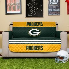 Green Bay Packers Love Seat Protector