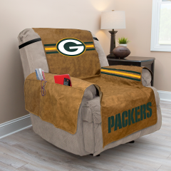 Packers Premium Faux Leather Recliner Cover
