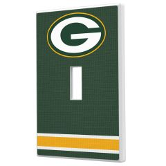 Packers Single Toggle Light Switch Plate