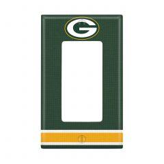 Packers Single Rocker Light Switch Plate