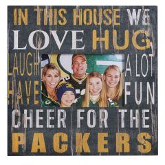 Green Bay Packers In This House Frame