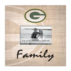 Packers Family Picture Frame