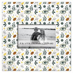Packers Floral Pattern Photo Frame