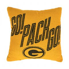 Packers Jacquard 2-Sided Pillow
