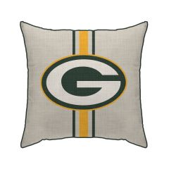 Packers Reverse Stripe Decor Pillow