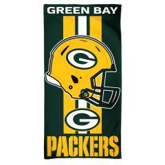 Packers Team Stripe Beach Towel