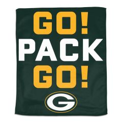 Packers Go! Pack Go! Rally Towel
