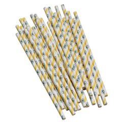 Packers Paper Straws