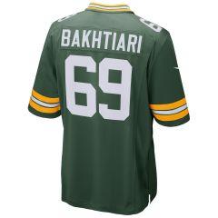 #69 David Bakhtiari Home Game Jersey