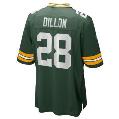 #28 A.J. Dillon Home Game Jersey