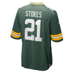 #21 Eric Stokes Home Game Jersey