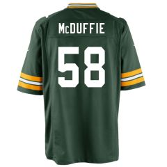 #58 Isaiah McDuffie Home Game Jersey