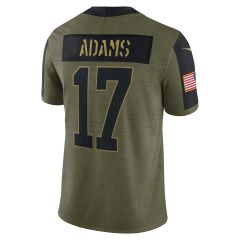 Salute to Service #17 Adams Limited Jersey