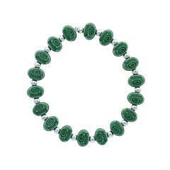 Green Bay Packers Beaded Bracelet