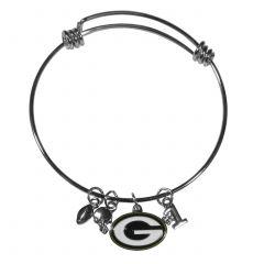 Green Bay Packers Charm Bangle Bracelet