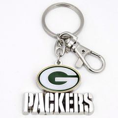 Green Bay Packers Team Logo Heavy-Weight Key Chain