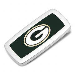 Green Bay Packers Cushion Cut Money Clip