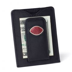 Green Bay Packers Football Leather Money Clip