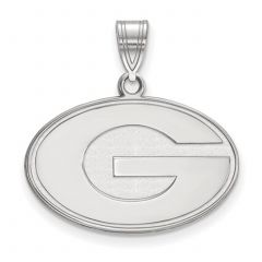 Packers Silver G Logo Pendant