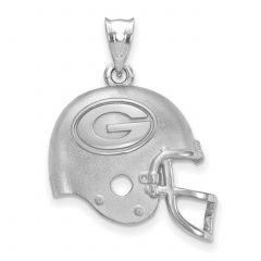 Packers Silver Helmet Pendant