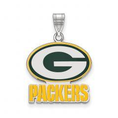 Packers Enamel Pendant