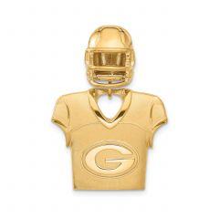 Packers Jersey & Helmet Pendant