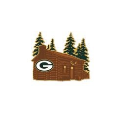 Packers Cabin Pin