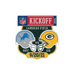 Packers vs. Lions 9/20 Game Pin