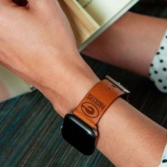 Packers Premium Leather Apple Watch Band
