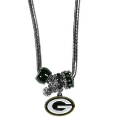 Green Bay Packers Euro Bead Necklace