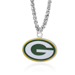Packers Large Primary Charm Rope Necklace