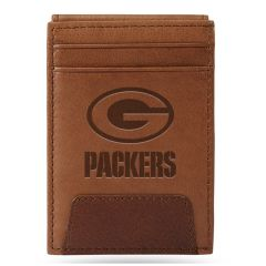 Packers Front Pocket Leather Wallet