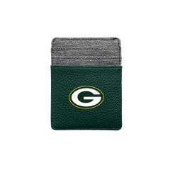 Packers Pebble Front Pocket Wallet