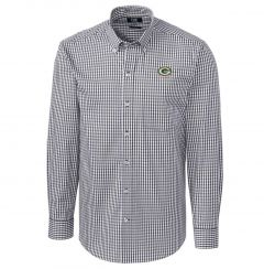 Packers Gingham Stretch Woven Shirt