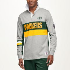 Packers Tommy Hilfiger Color-Blocked Rugby Shirt