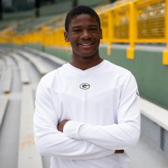 Packers Coaches V-Neck Long Sleeved Top