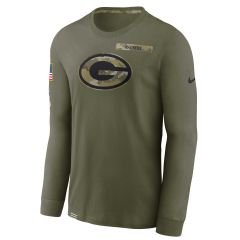 Packers 2021 Salute to Service LS T-Shirt