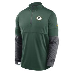 Packers Team Logo Therma 1/2 Top