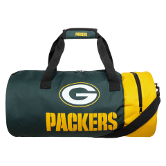 Packers Two-Tone Cylinder Duffle Bag