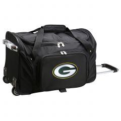Green Bay Packers Wheeled Duffle Bag