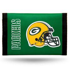 Packers Nylon Tri-Fold Wallet