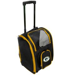 Packers Wheeled Premium Pet Carrier