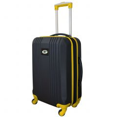 """Packers 21"""" Carry-On Hardcase 2-Tone Spinner"""