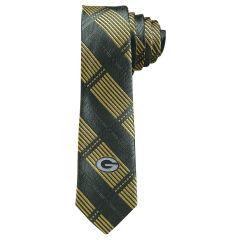 Green Bay Packers Skinny Plaid Tie