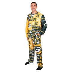 Packers Men's Ugly Crewneck Pajama Set