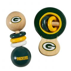 Packers Baby Rattle Set