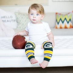 Packers Baby Leg Warmers